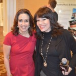 Patricia Heaton and CMC host Cheryl Ariaz Wicker